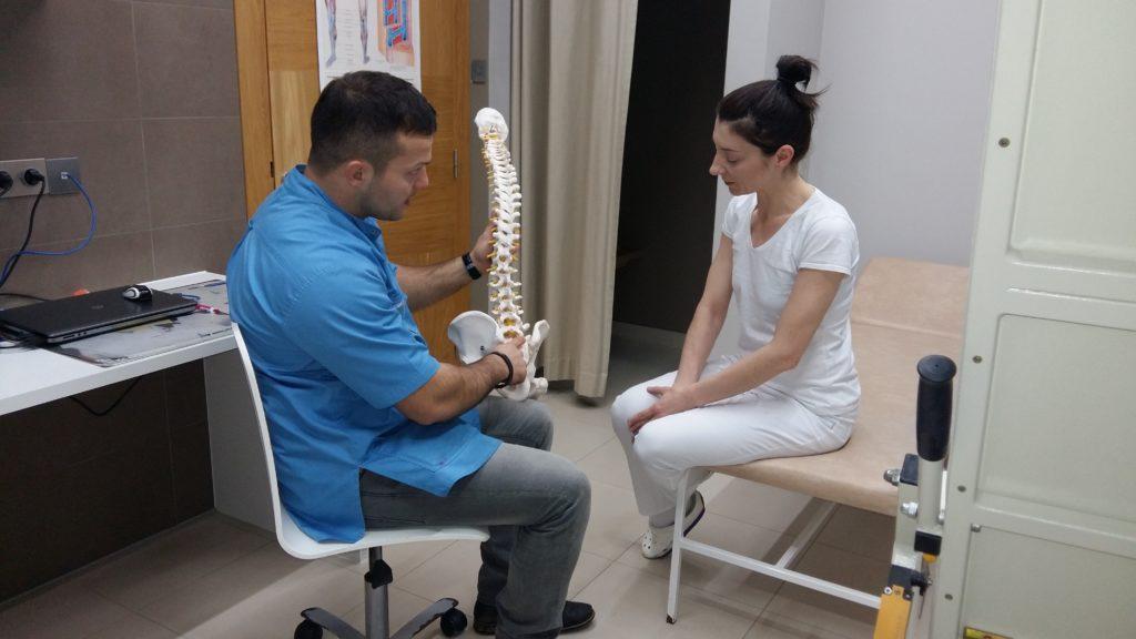 Objaśnianie przyczyn dolegliwości bólowych
